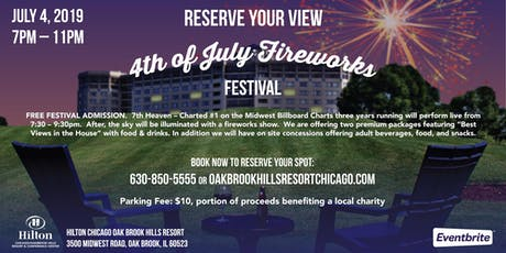 Fireworks Festival with 7th Heaven tickets