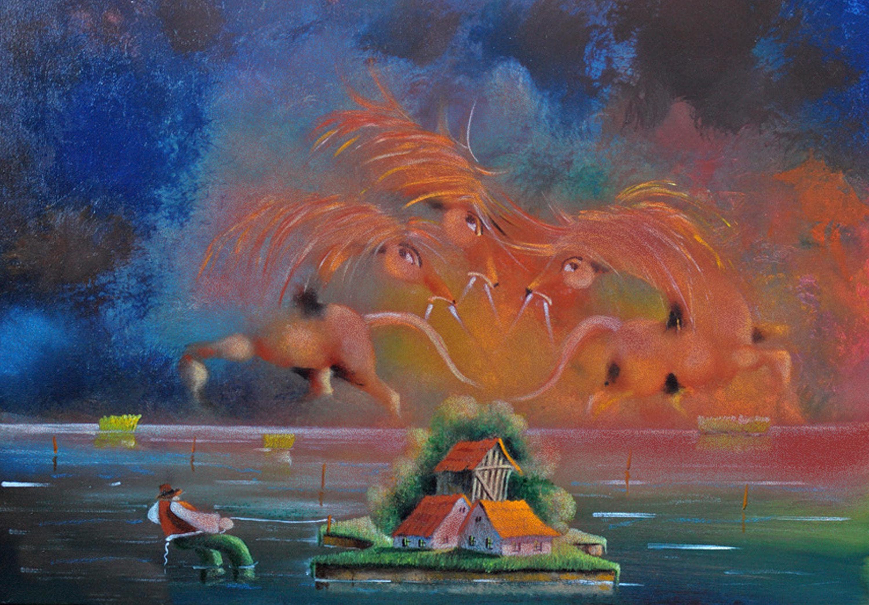 David Berkowitz Chicago Naive Art Exhibition