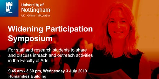 Faculty of Arts Widening Participation Symposium
