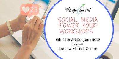 Social Media Power Hour Workshops