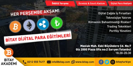 İstanbul Bitcoin, Dijital/Kripto Para, Blockchain Buluşması / Bitay Eğitim tickets