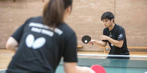 Swansea University - Table Tennis High Performance Open Day