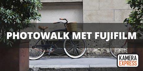 Photowalk Leeuwarden met Fujifilm tickets