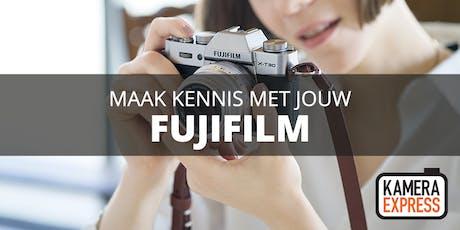 Basiscursus: leer jouw Fujifilm kennen tickets