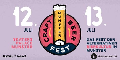 Craft Beer Fest Münster 2019 Tickets