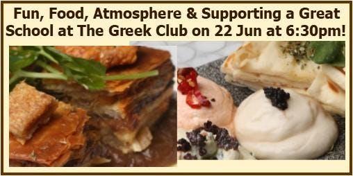 Greek Banquet to Help Bring Maridahdi School to Brisbane