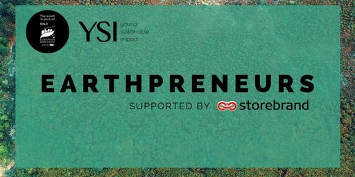 Earthpreneurs 2019 - Supported by Storebrand