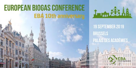 European Biogas Conference - EBA 10th anniversary billets