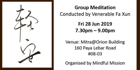 Group Meditation tickets