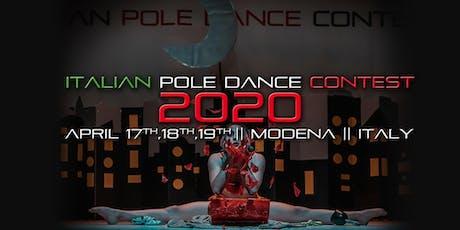 ITALIAN POLE DANCE CONTEST 2020 || Modena biglietti