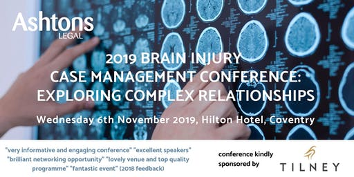 2019 Ashtons Brain Injury Case Management Conference