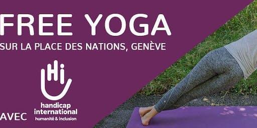 HI Yoga Nations  - le yoga gratuit et accessible à tous à Genève !
