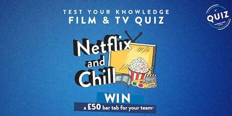 Netflix and Chill Quiz tickets