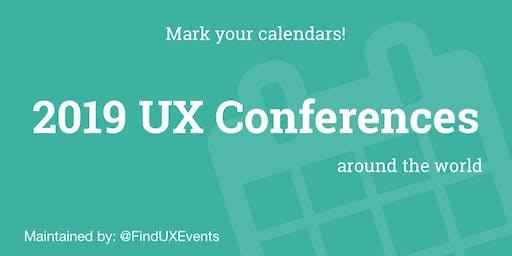 UX- Conferences Asia 2019