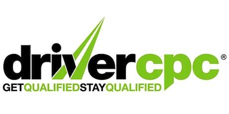 Driver CPC Course tickets