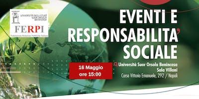 Eventi e Responsabilità Sociale