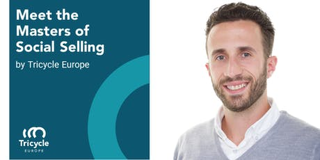 Webinar Meet the Masters of Social Selling by Tricycle Europe tickets