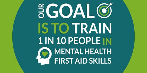 Mental Health First Aid Qualification - Saturday 15th and 22nd June at Hayes Secondary School