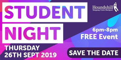 Student Night at Houndshill Shopping Centre