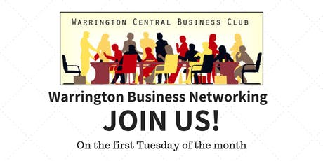 Warrington Central Business Club - Network Meeting tickets