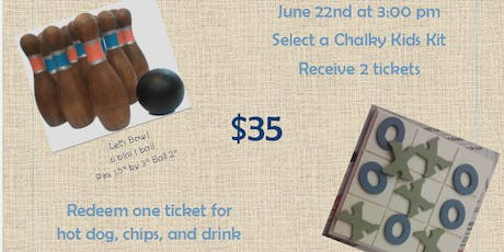 Family Fun Night- Paint a Game tickets