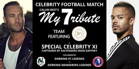 Celebrity Football Match with Calum Best, The F2 Football Club and more! tickets