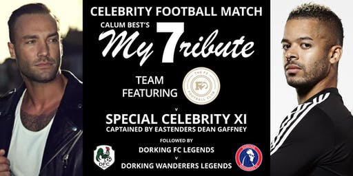 Celebrity Football Match with Calum Best, The F2 Football Club and more!