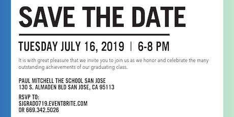 PMTS San Jose July 2019 Graduation tickets