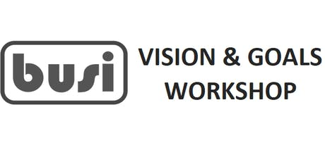 Vision & Goal Setting for Start Up & Small Business Owners tickets