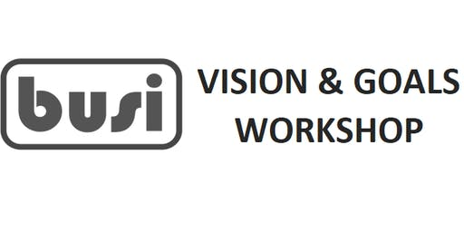 Vision & Goal Setting for Start Up & Small Business Owners