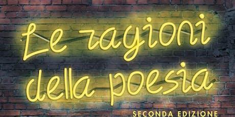 Le ragioni della poesia, ciclo di incontri a cura di Elio Pecora biglietti