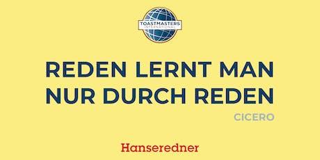 Hanseredner - Redeabend Tickets