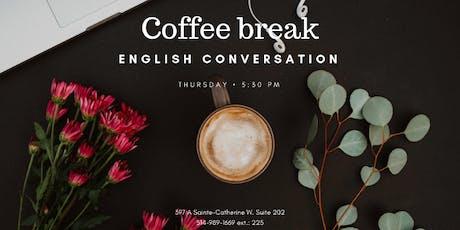 Coffee Break: English Conversation tickets