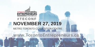 Toronto Entrepreneurs Conference & Tradeshow Registration - November 27th, 2019