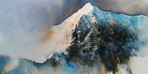 Watercolour Workshop- Mountains with Paul Marlor