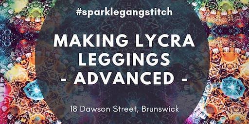 Making Lycra Leggings - Advanced