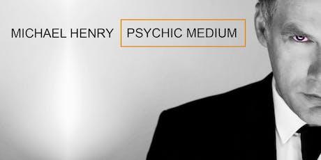 MICHAEL HENRY :Psychic Medium - Antrim tickets