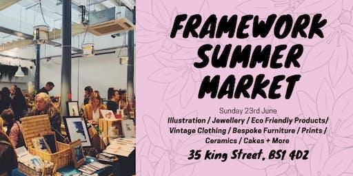 Framework Summer Market - 23rd June