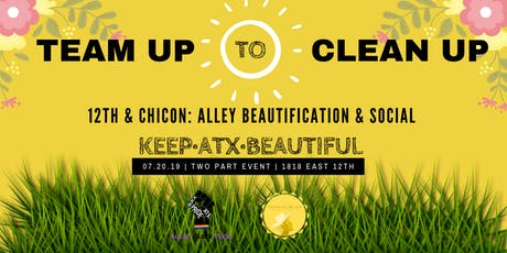 12TH & CHICON: ALLEY BEAUTIFICATION & SOCIAL tickets