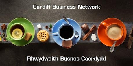 Cardiff Business Network | Rhwydwaith Busnes Caerdydd tickets