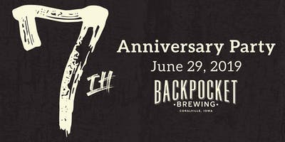 Backpocket 7th Anniversary Party