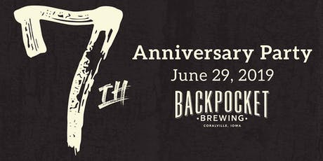 Backpocket 7th Anniversary Party tickets