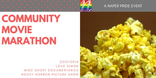 Naper Pride - Community Movie Marathon