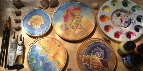 Intro to silk painting - Seaside fun tickets