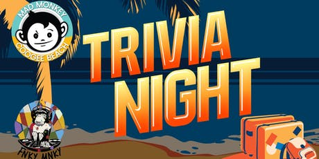 Trivia Night at Mad Monkey Hostel Coogee Beach tickets