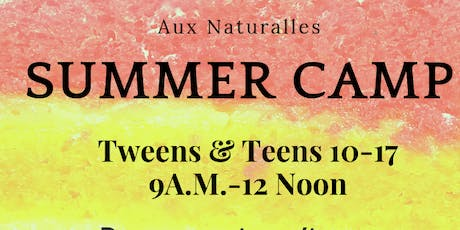 Shreveport Aux Naturalles Camp Week  tickets