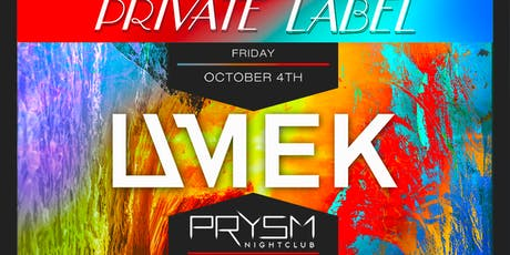 PRIVATE LABEL FT. UMEK tickets