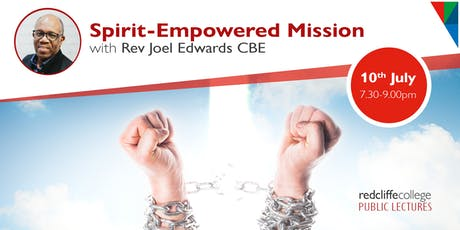 Public Lecture: Spirit-Empowered Mission tickets