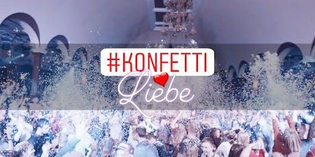 KONFETTIliebe Party * 333 KG KONFETTI * 16.11.19 * Felsenkeller Leipzig Tickets