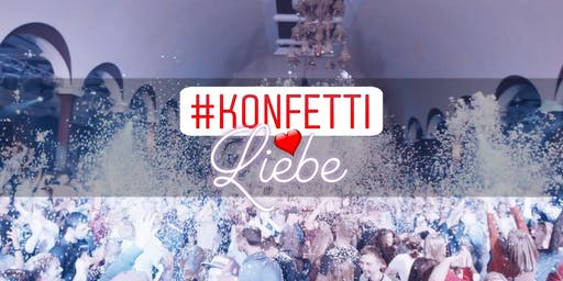 KONFETTIliebe Party * 333 KG KONFETTI * 16.11.19 * Felsenkeller Leipzig